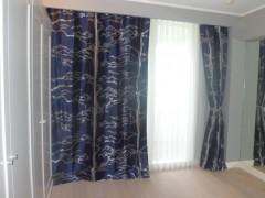 マナの松柄カーテン